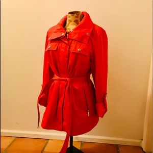 HALOGEN WOMENS RAINCOAT Size Small